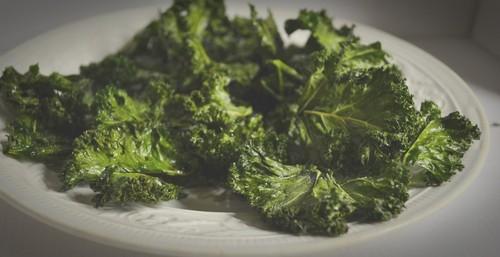Grönkålschips och soppa