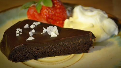 Chokladtryffelkaka, fudge brownie en riktigt snabb en!