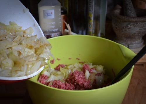 Kålpudding och lingon, hur gott som helst!