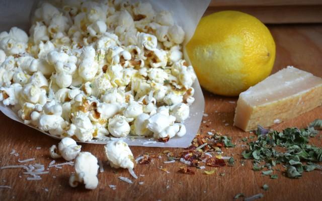 Popcorn med smak!