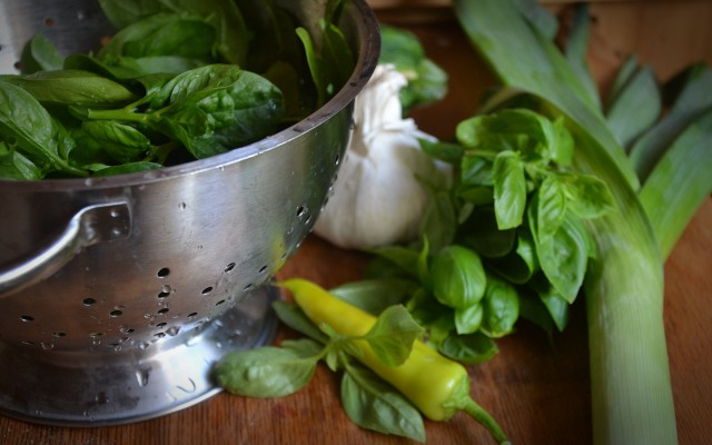 Krämig grön soppa!
