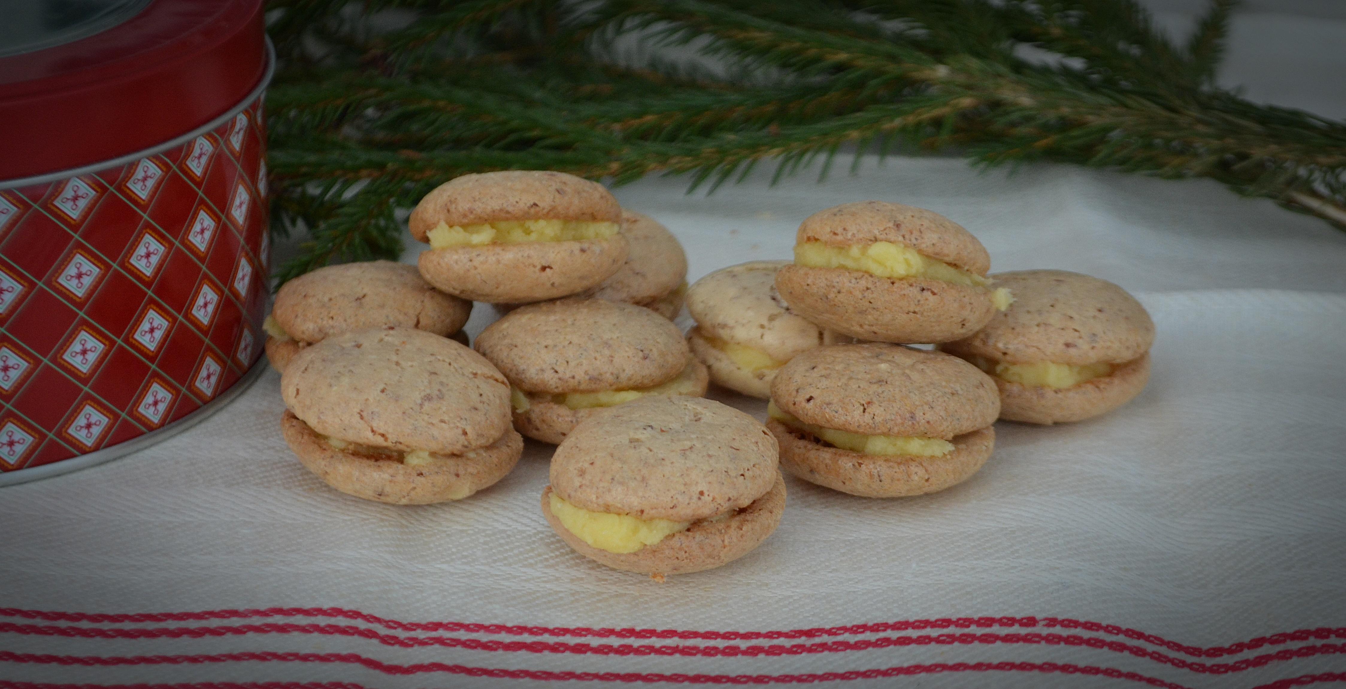 dubbla kakor med smörkräm recept
