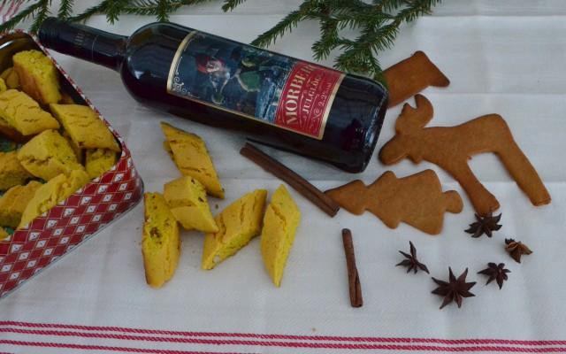 Saffransbiscotti godast till glöggen!