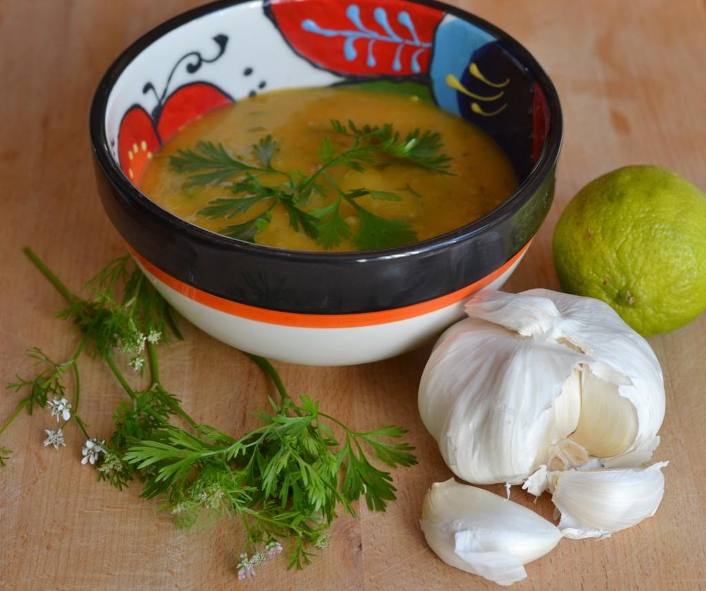 potatis och morotsoppa