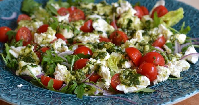 tomat och mozzarella