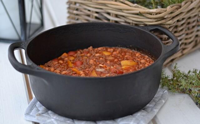 Chili con carne, perfekt utemat!