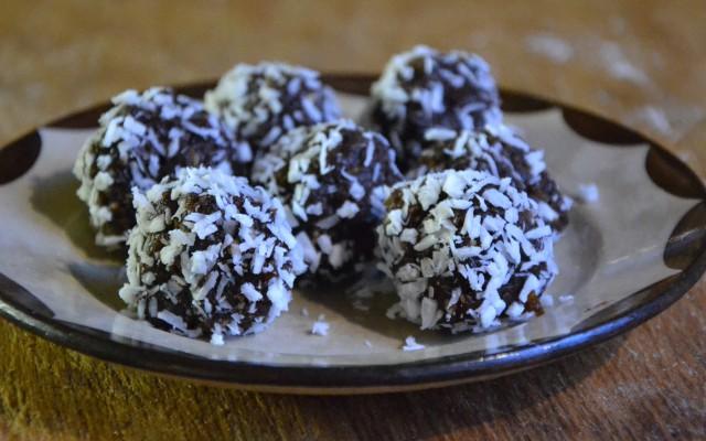 Fruktiga chokladbollar