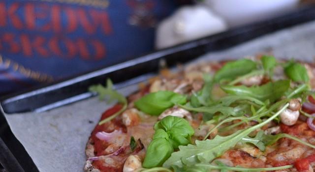Knäckebrödspizza och Smakbox!