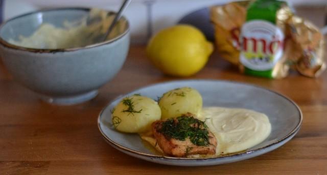 Superenkel Hollandaisesås till fisk och grönsaker
